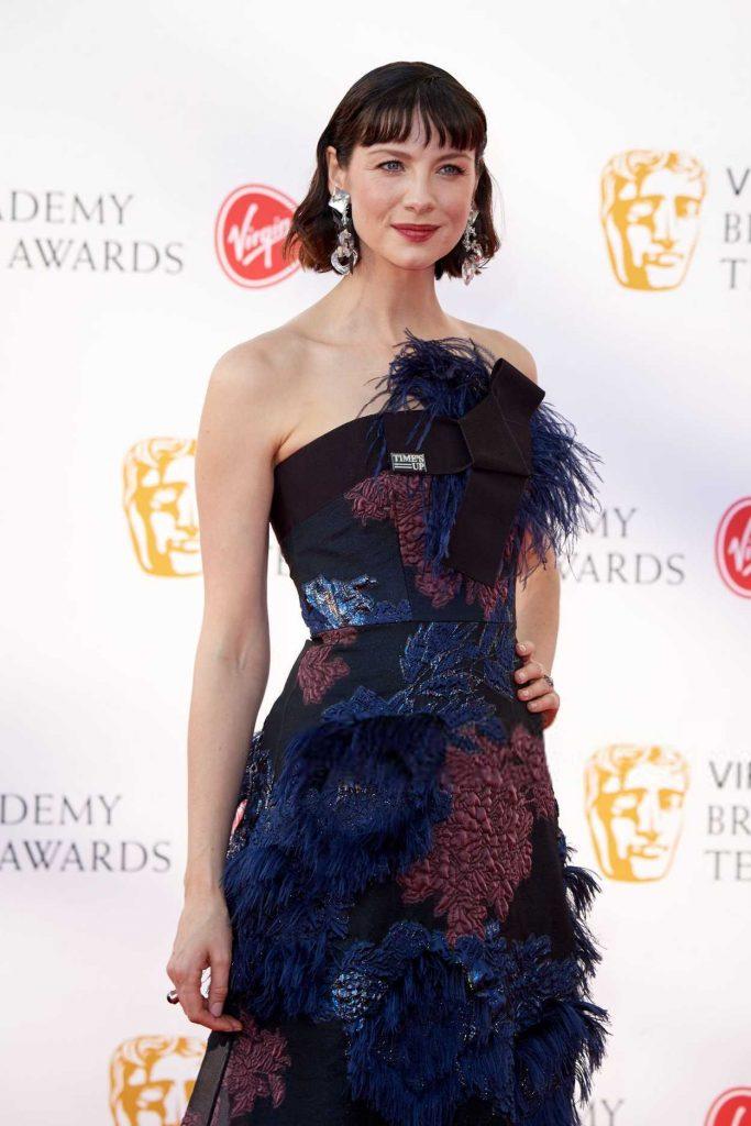 Caitriona Balfe at British Academy Television Awards at Royal Festival Hall in London 05/13/2018-4