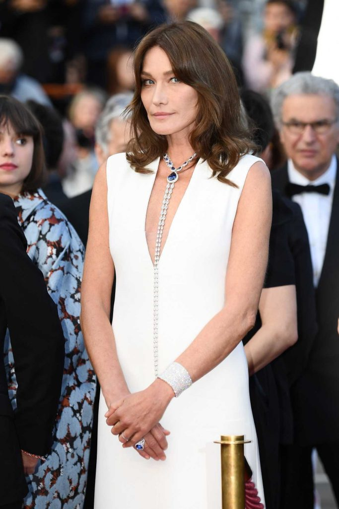 Carla Bruni at the Sink or Swim Screening During the 71st Cannes Film Festival in Cannes 05/13/2018-2