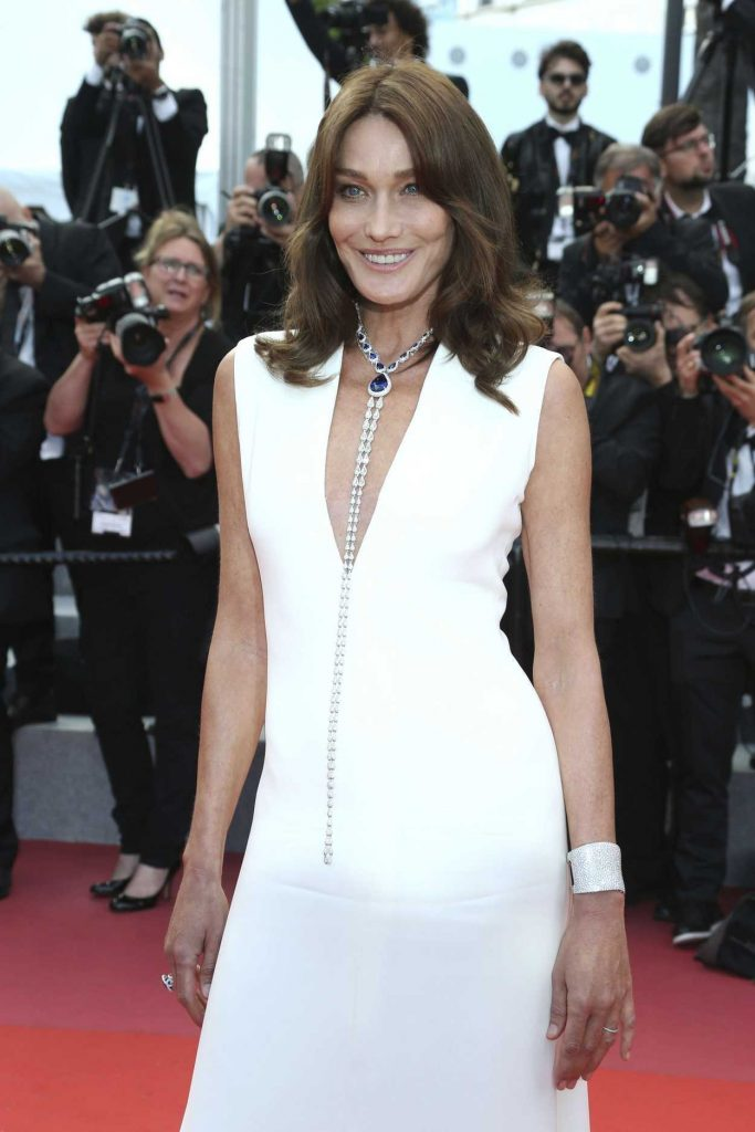 Carla Bruni at the Sink or Swim Screening During the 71st Cannes Film Festival in Cannes 05/13/2018-3