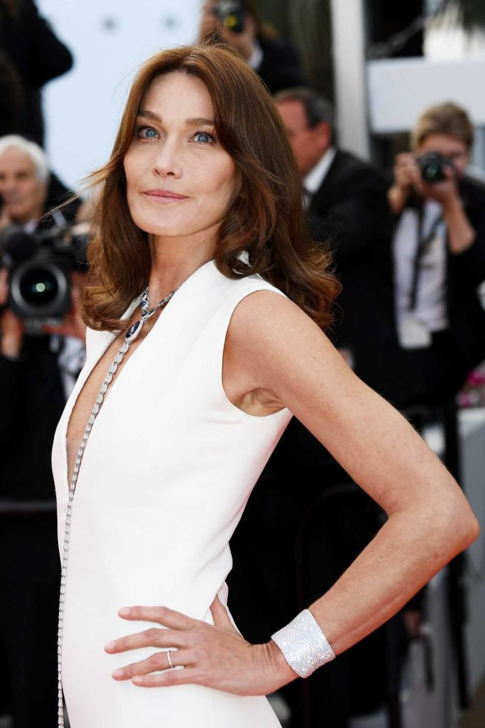 Carla Bruni at the Sink or Swim Screening During the 71st Cannes Film Festival in Cannes 05/13/2018-4
