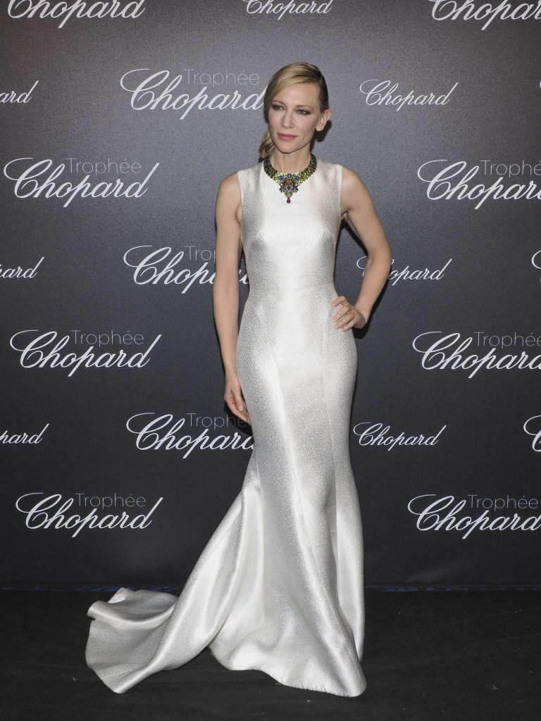 Cate Blanchett at the Chopard Trophy's Photocall During the 71st Cannes Film Festival at Martinez Hotel in Cannes 05/14/2018-1