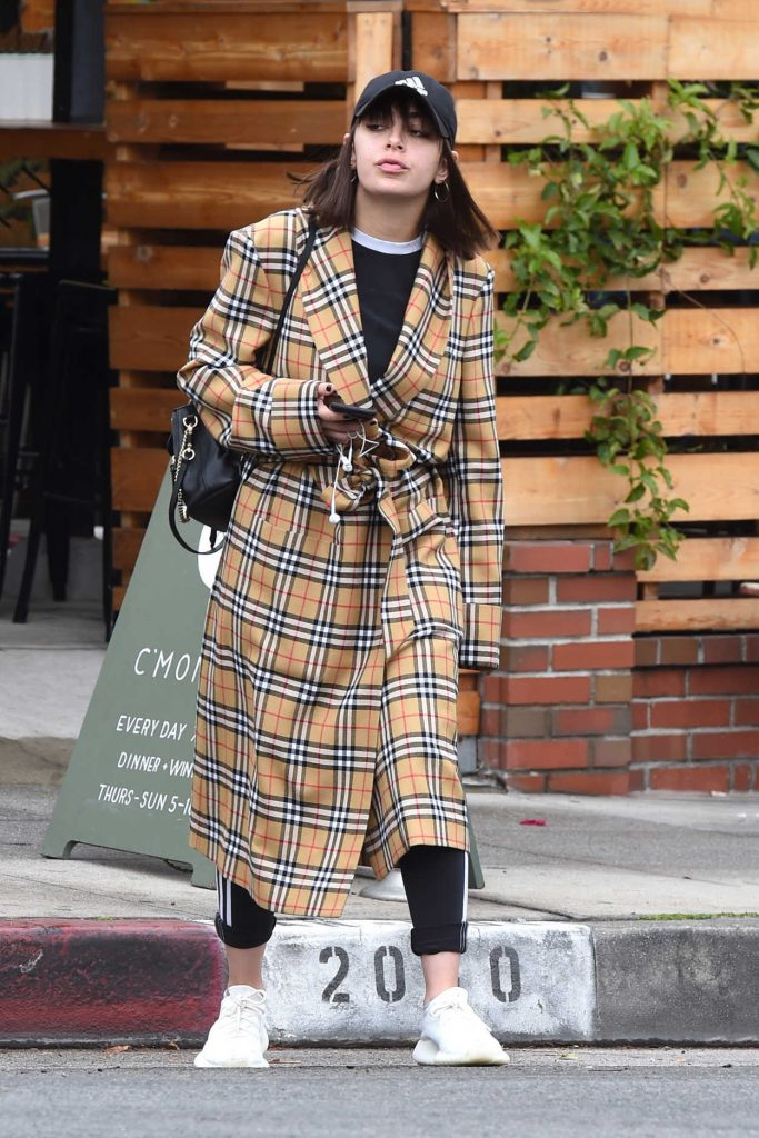 Charli XCX Wears a Black Adidas Cap Out in Los Angeles 05/01/2018-1