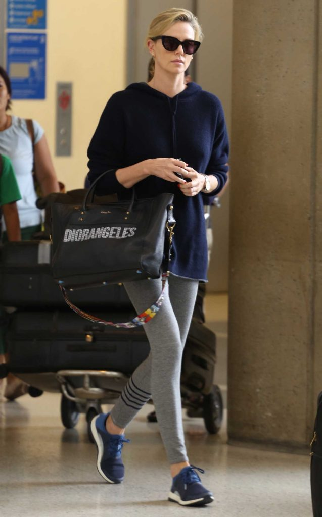 Charlize Theron Was Spotted at LAX Airport in LA 05/30/2018-1