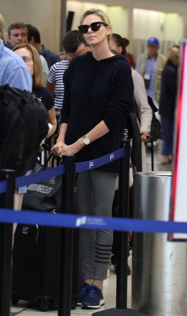 Charlize Theron Was Spotted at LAX Airport in LA 05/30/2018-4