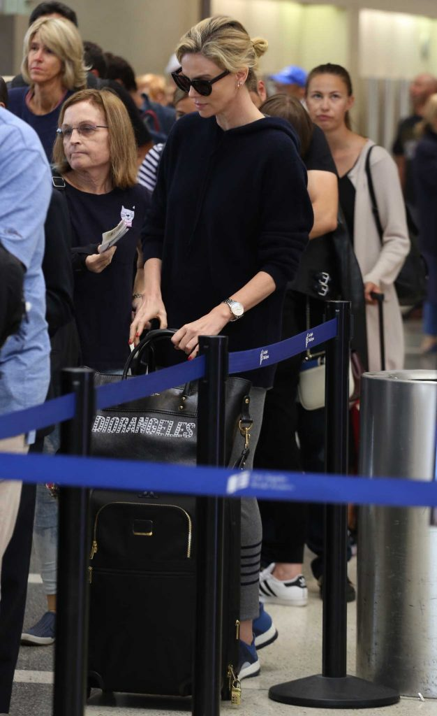 Charlize Theron Was Spotted at LAX Airport in LA 05/30/2018-5
