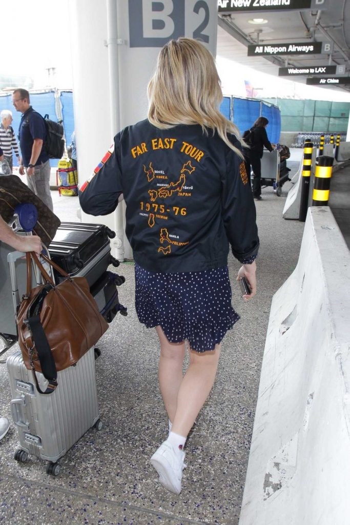 Chloe Moretz Arrives at LAX Airport in LA 05/20/2018-6