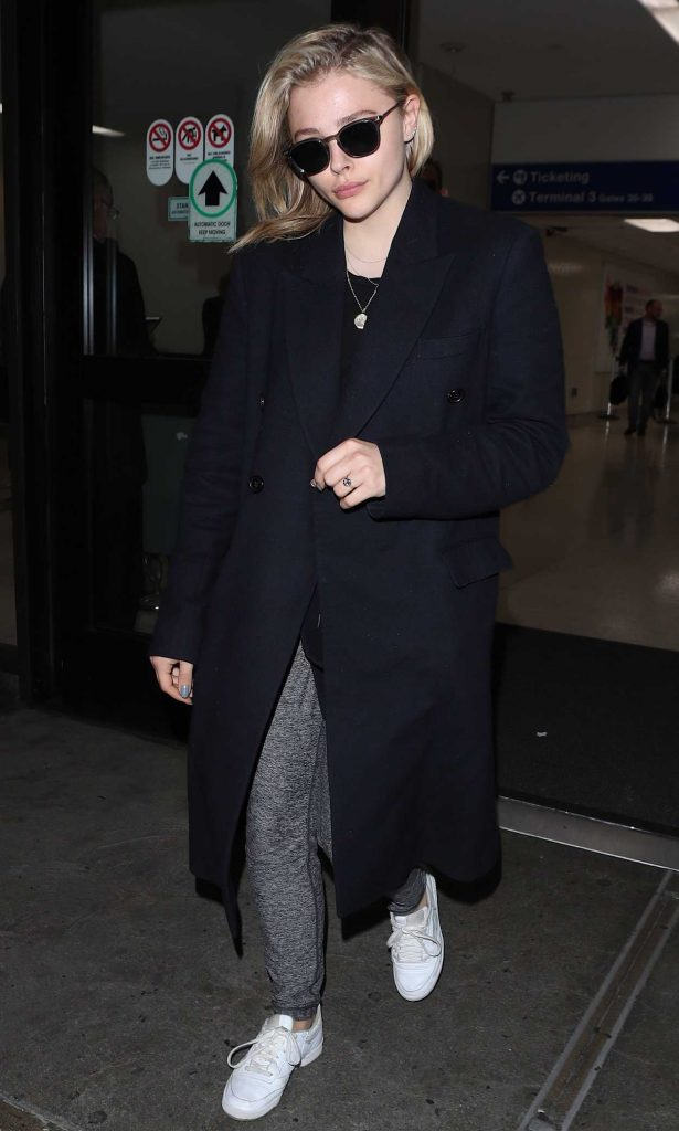 Chloe Moretz Arrives at LAX Airport in Los Angeles 05/01/2018-2