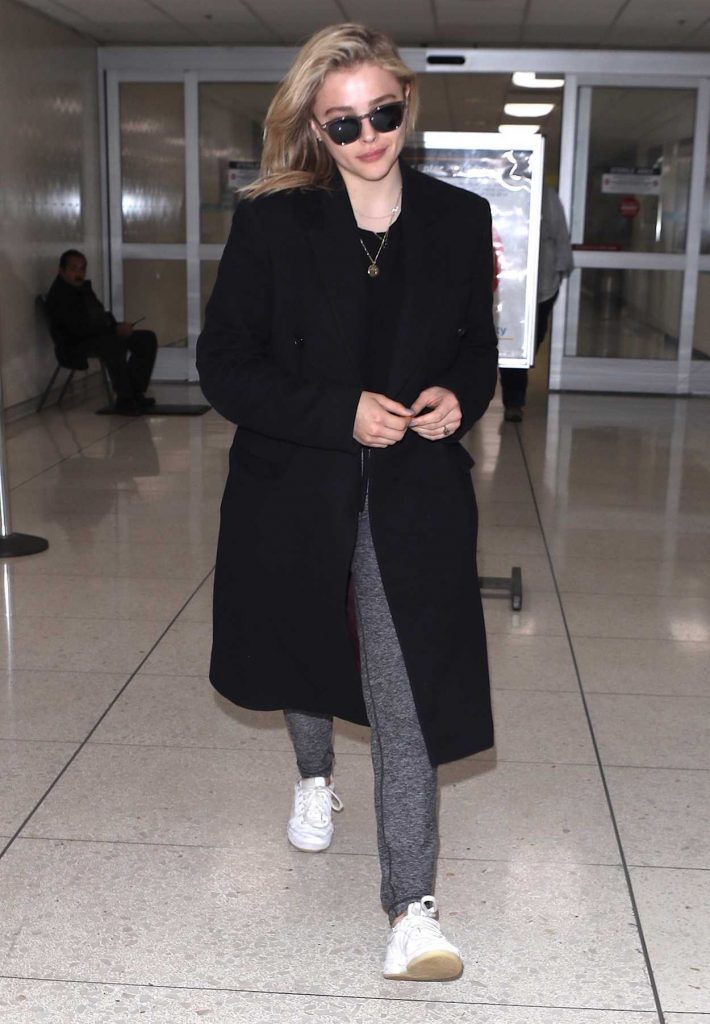 Chloe Moretz Arrives at LAX Airport in Los Angeles 05/01/2018-3