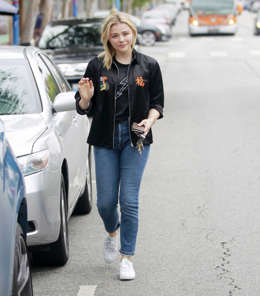 Chloe Moretz Leaves an Office Building in West Hollywood 05/24/2018-3
