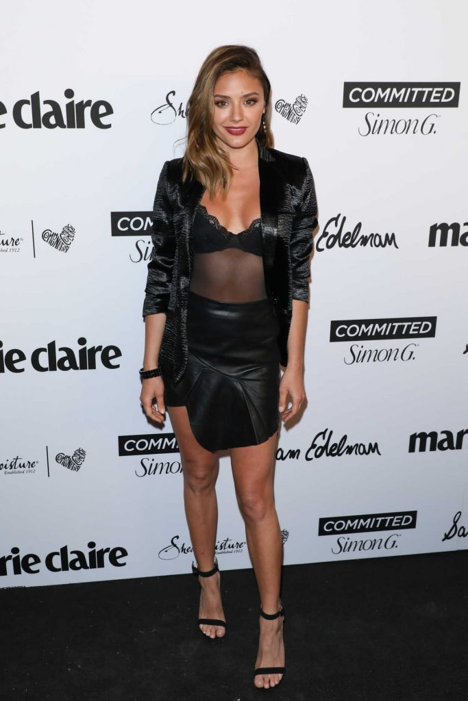 Christine Evangelista at the 5th Annual Marie Claire Fresh Faces Party in Los Angeles 04/27/2018-1