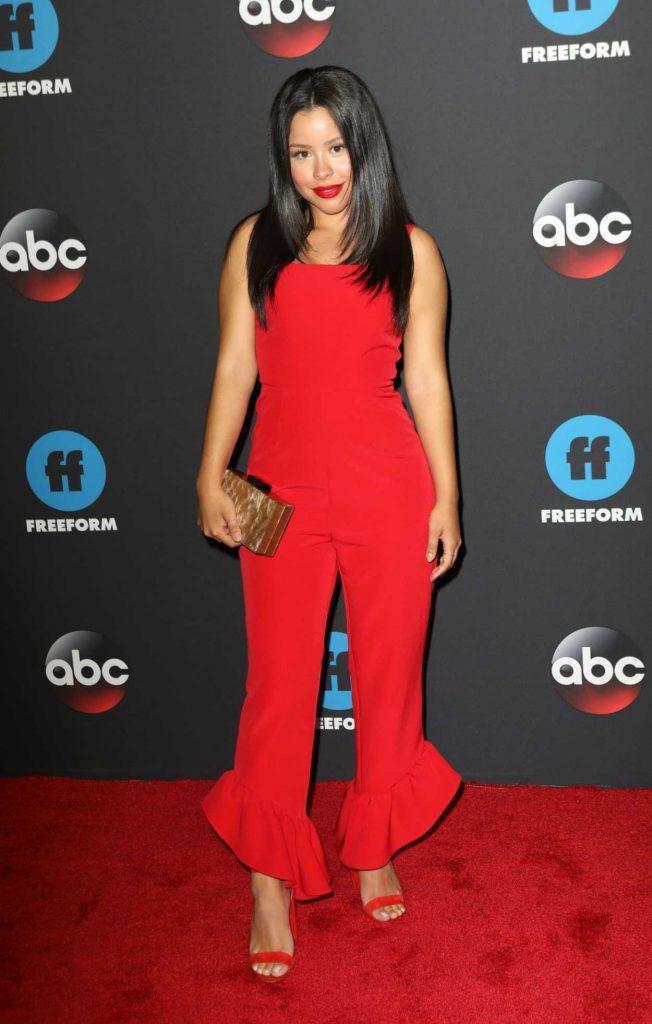 Cierra Ramirez at Disney ABC Upfront Presentation in New York City 05/15/2018-1