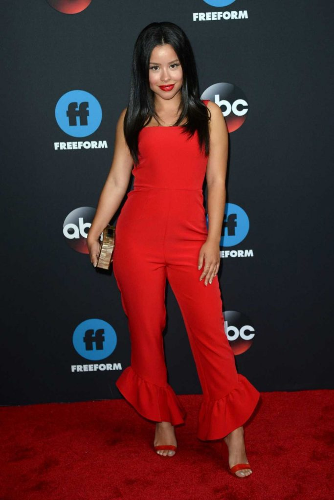 Cierra Ramirez at Disney ABC Upfront Presentation in New York City 05/15/2018-2