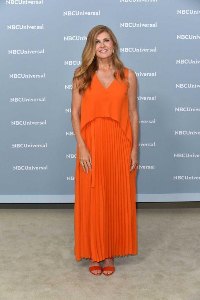 Connie Britton at NBCUniversal Upfront Presentation in New York City 05/14/2018-2