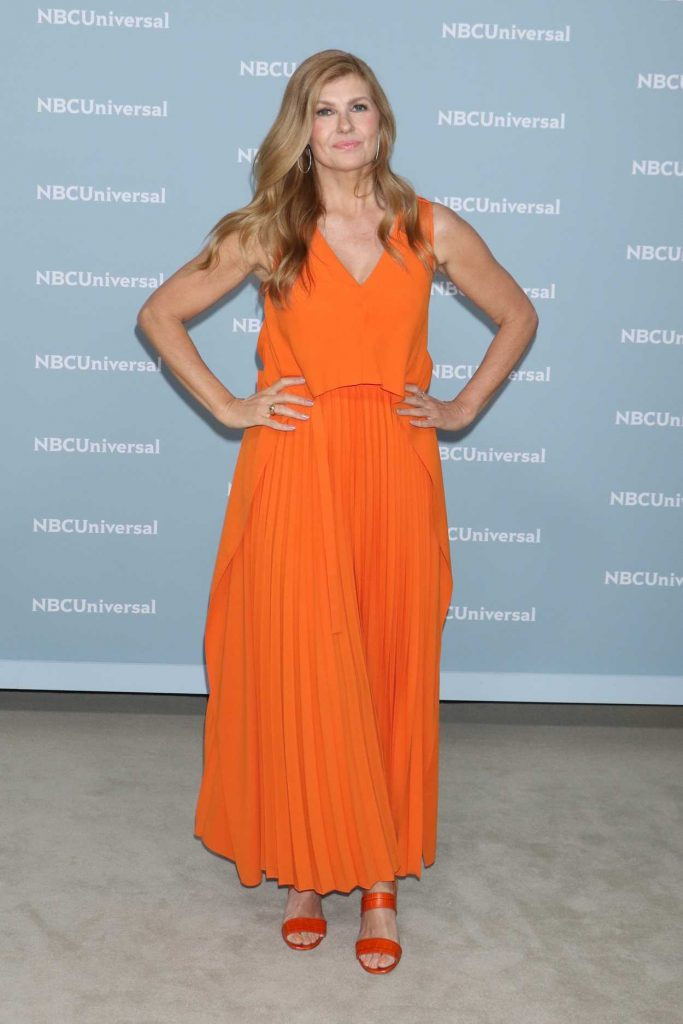 Connie Britton at NBCUniversal Upfront Presentation in New York City 05/14/2018-4
