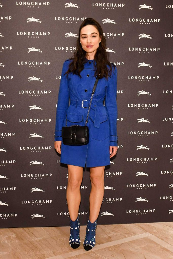 Crystal Reed at the Longchamp Fifth Avenue Store Opening in New York City 05/03/2018-1