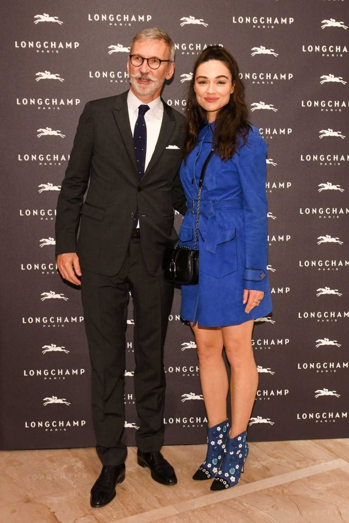 Crystal Reed at the Longchamp Fifth Avenue Store Opening in New York City 05/03/2018-4