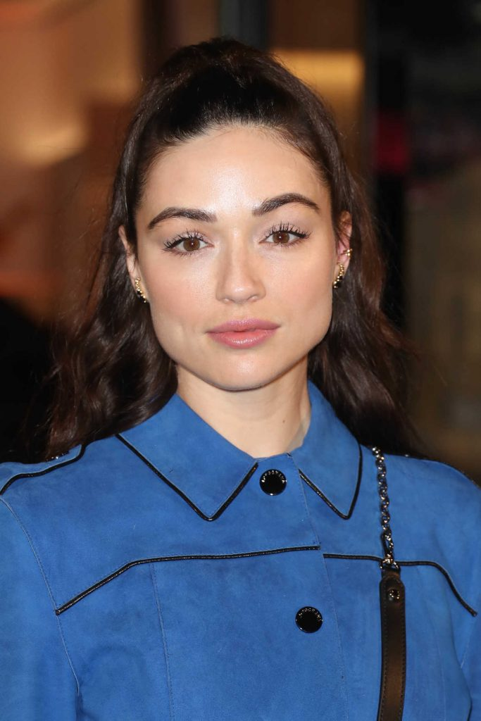 Crystal Reed at the Longchamp Fifth Avenue Store Opening in New York City 05/03/2018-5