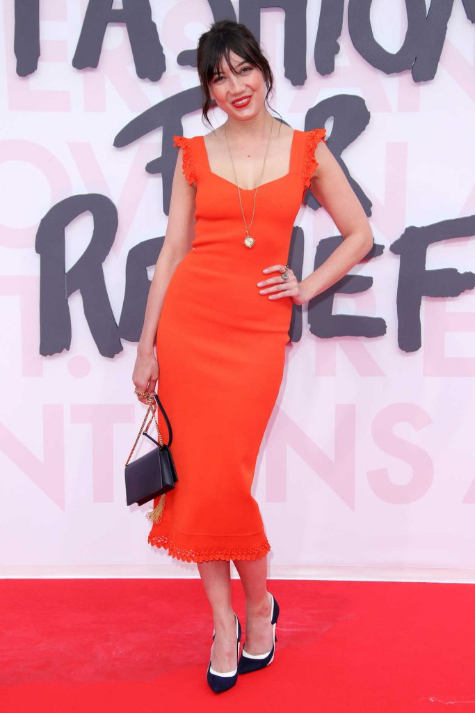 Daisy Lowe at the Fashion For Relief During the 71st Cannes Film Festival in Cannes 05/13/2018-2