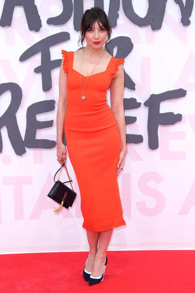 Daisy Lowe at the Fashion For Relief During the 71st Cannes Film Festival in Cannes 05/13/2018-3