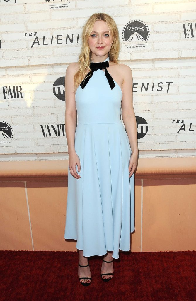 Dakota Fanning at The Alienist FYC Event in Beverly Hills 05/23/2018-1