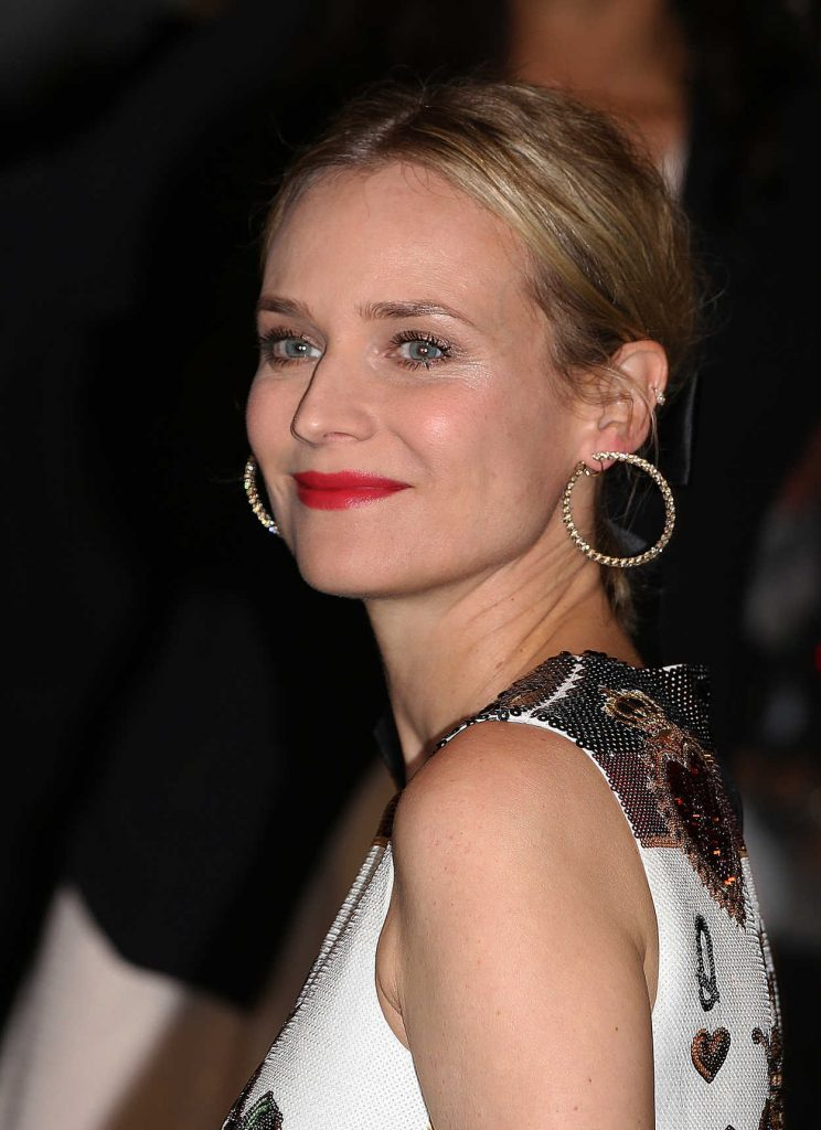 Diane Kruger Arrives at the Marriott Hotel for the Dior Dinner During the 71st Cannes Film Festival in Cannes 05/12/2018-5