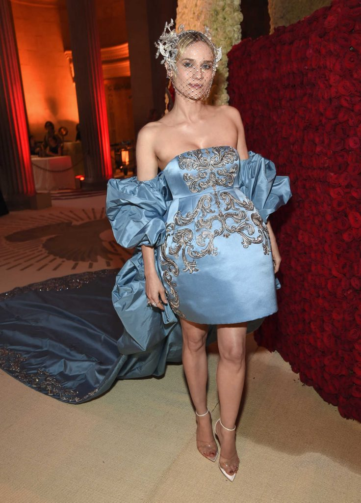 Diane Kruger at the Heavenly Bodies: Fashion and The Catholic Imagination Costume Institute Gala in New York City 05/07/2018-1