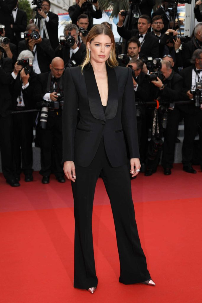 Doutzen Kroes at the Solo: A Star Wars Story Screening During the 71st Cannes Film Festival in Cannes 05/15/2018-1