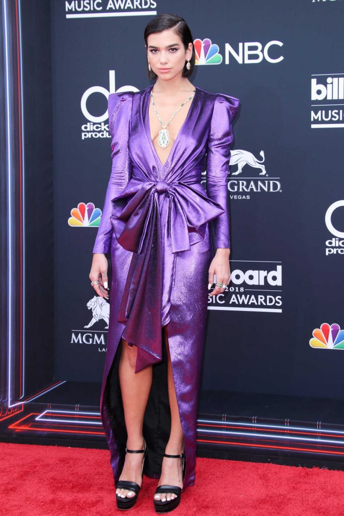 Dua Lipa at Billboard Music Awards in Las Vegas 05/20/2018-1