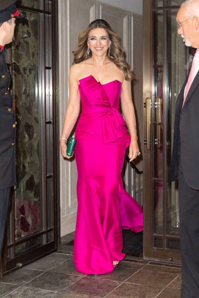 Elizabeth Hurley Leaves Her Hotel in New York City 05/17/2018-1