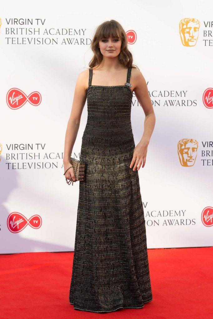 Ella Purnell at British Academy Television Awards at Royal Festival Hall in London 05/13/2018-1
