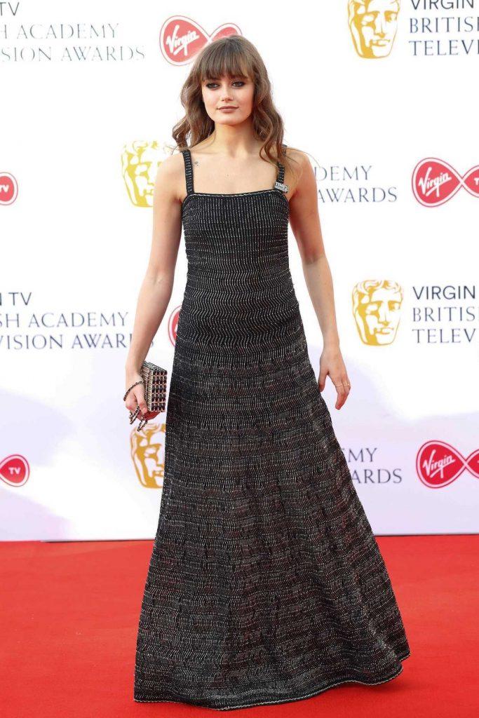 Ella Purnell at British Academy Television Awards at Royal Festival Hall in London 05/13/2018-3