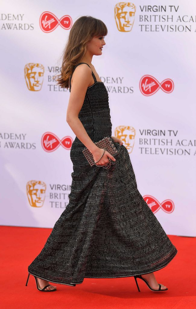 Ella Purnell at British Academy Television Awards at Royal Festival Hall in London 05/13/2018-4