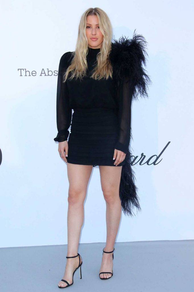 Ellie Goulding at amfAR's 25th Cinema Against AIDS Gala During the 71st Cannes Film Festival in Cannes 05/17/2018-1