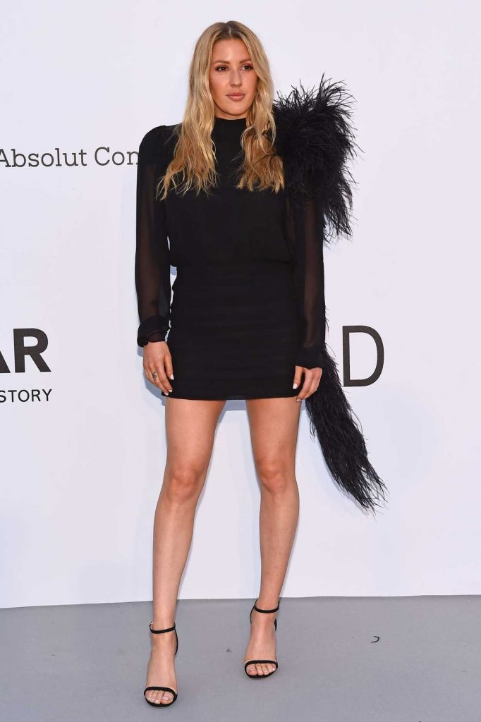 Ellie Goulding at amfAR's 25th Cinema Against AIDS Gala During the 71st Cannes Film Festival in Cannes 05/17/2018-3