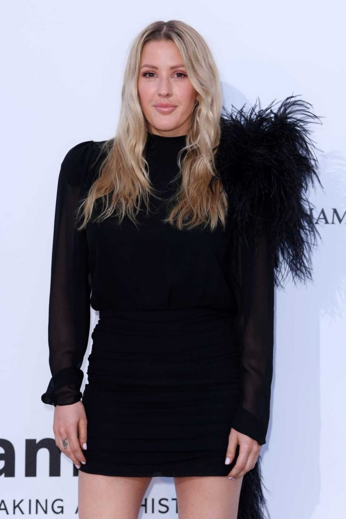 Ellie Goulding at amfAR's 25th Cinema Against AIDS Gala During the 71st Cannes Film Festival in Cannes 05/17/2018-4