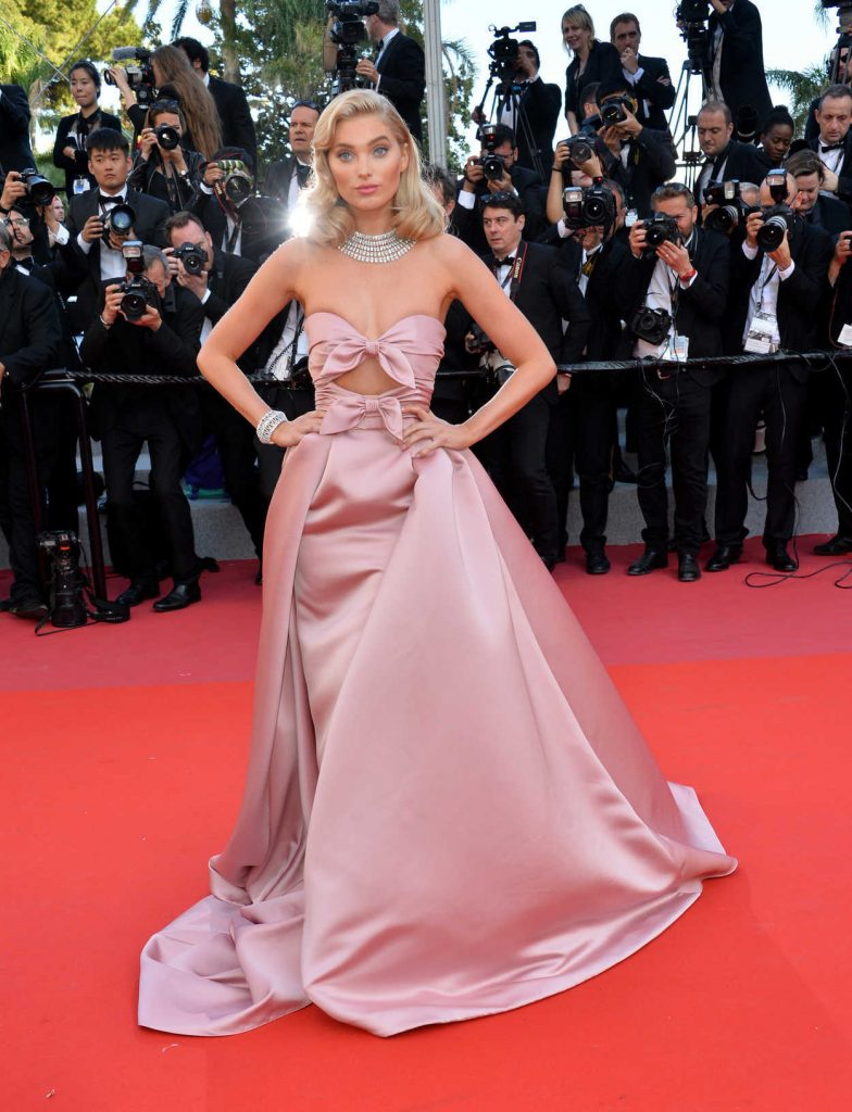 Elsa Hosk at the Girls of the Sun Premiere During the 71st Cannes Film Festival in Cannes 05/12/2018-1