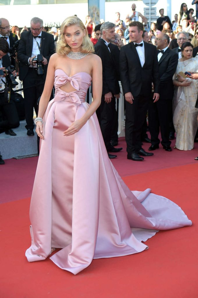 Elsa Hosk at the Girls of the Sun Premiere During the 71st Cannes Film Festival in Cannes 05/12/2018-2