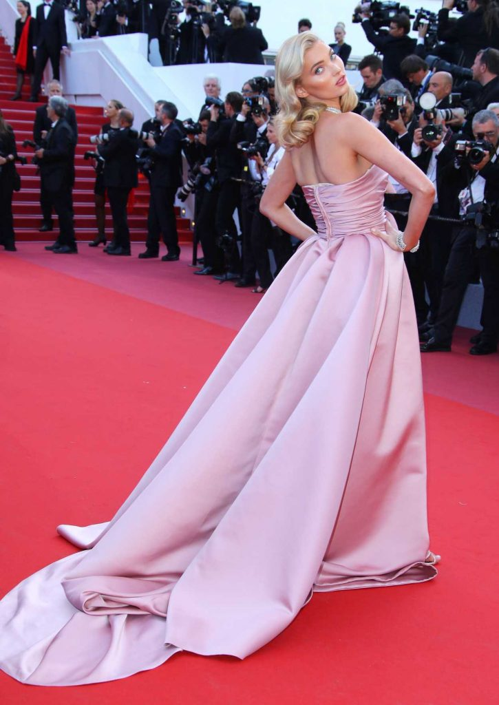 Elsa Hosk at the Girls of the Sun Premiere During the 71st Cannes Film Festival in Cannes 05/12/2018-4