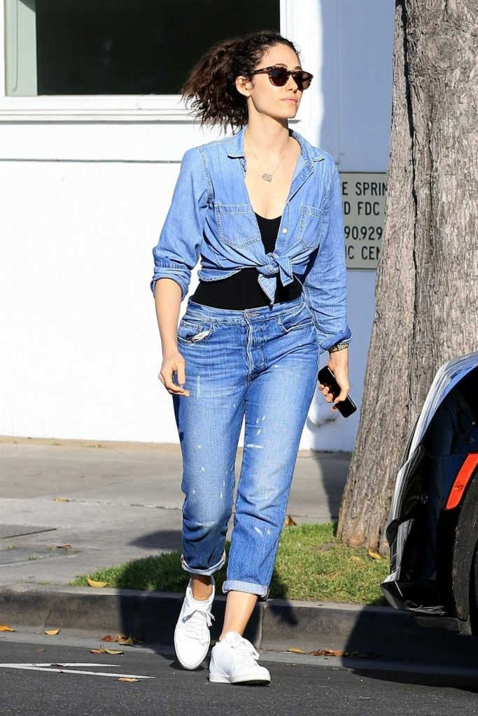 Emmy Rossum Out Shopping in West Hollywood 05/17/2018-2