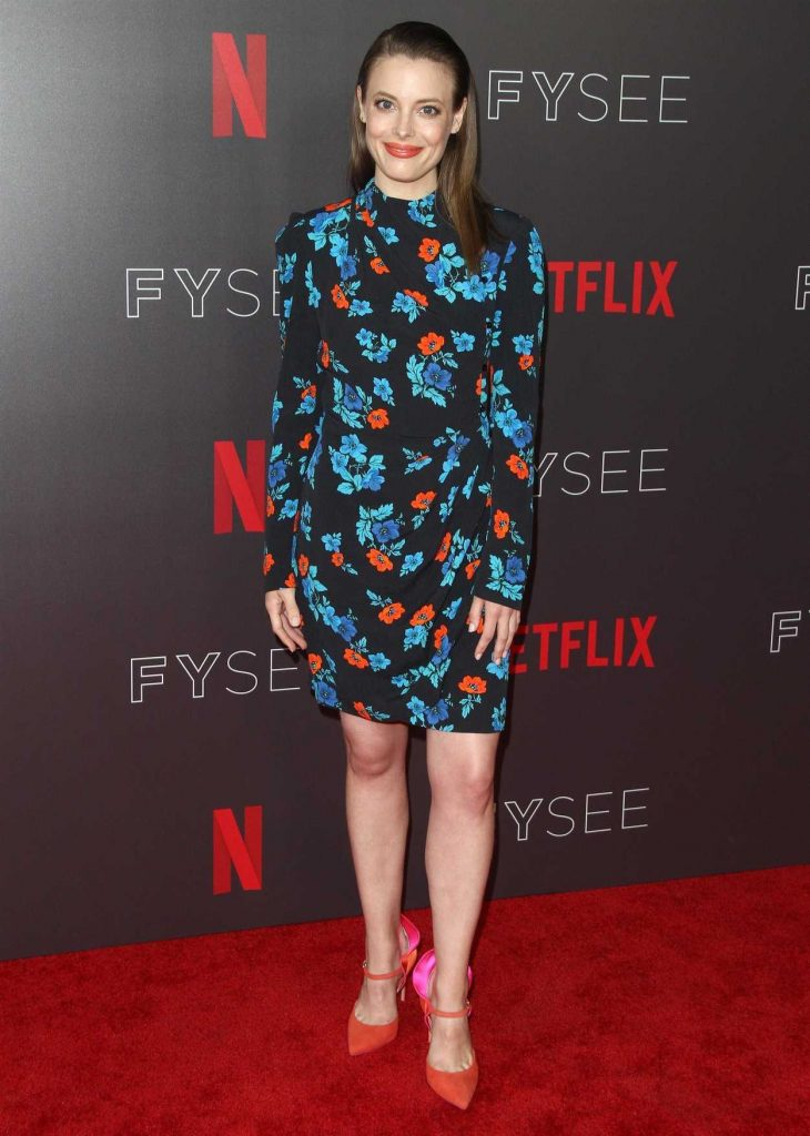 Gillian Jacobs at Netflix Comediennes in Conversation Panel FYsee Event in Los Angeles 05/29/2018-1