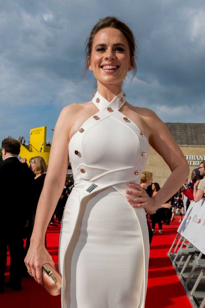 Hayley Atwell at British Academy Television Awards at Royal Festival Hall in London 05/13/2018-2