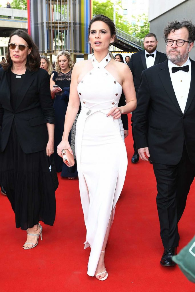 Hayley Atwell at British Academy Television Awards at Royal Festival Hall in London 05/13/2018-3