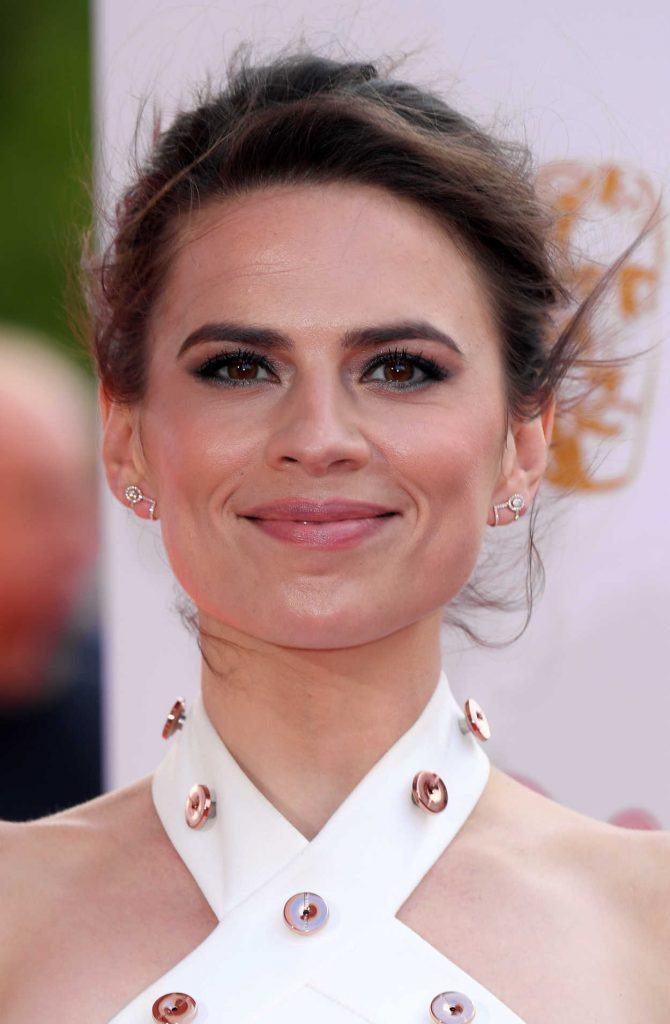 Hayley Atwell at British Academy Television Awards at Royal Festival Hall in London 05/13/2018-5
