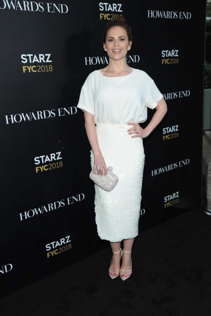 Hayley Atwell at the Counterpart and Howards End FYC Event in Los Angeles 05/23/2018-1