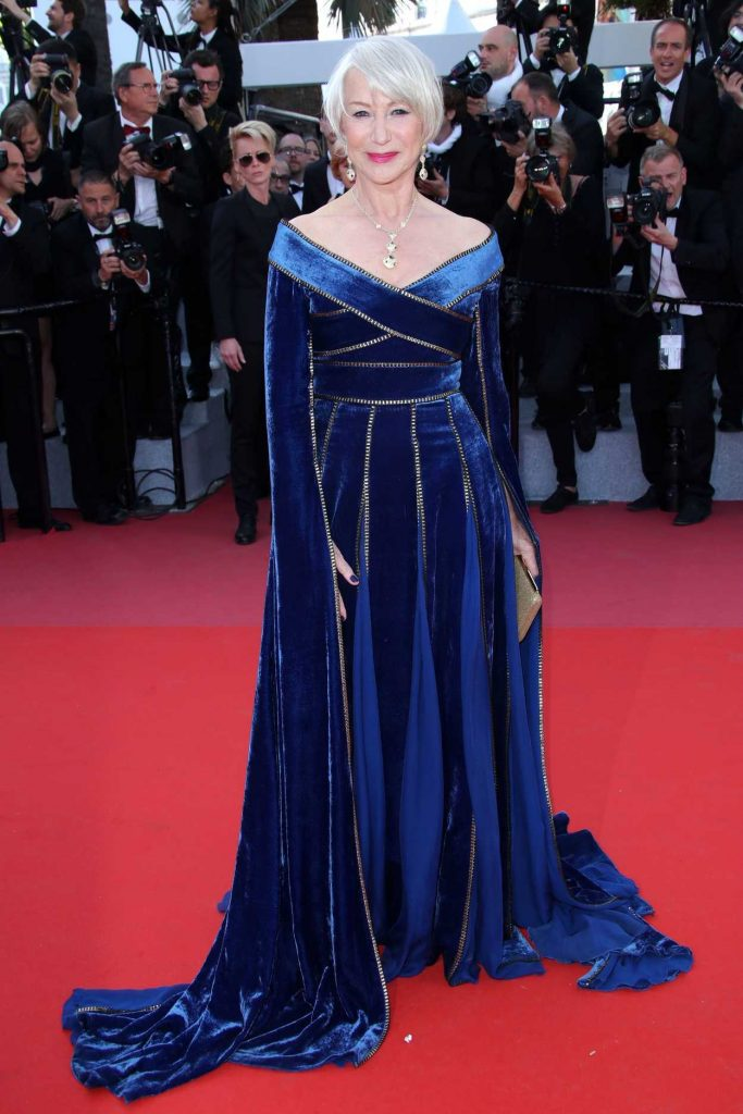 Helen Mirren at the Girls of the Sun Premiere During the 71st Cannes Film Festival in Cannes 05/12/2018-1
