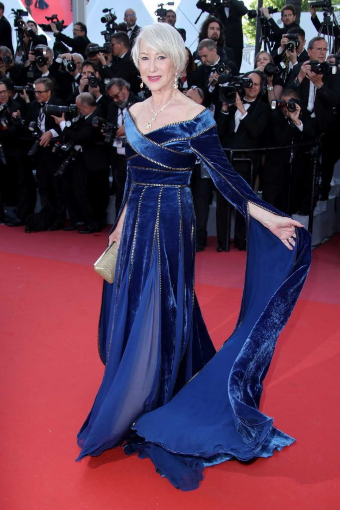 Helen Mirren at the Girls of the Sun Premiere During the 71st Cannes Film Festival in Cannes 05/12/2018-2