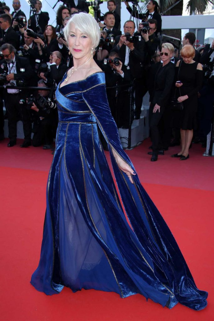 Helen Mirren at the Girls of the Sun Premiere During the 71st Cannes Film Festival in Cannes 05/12/2018-3
