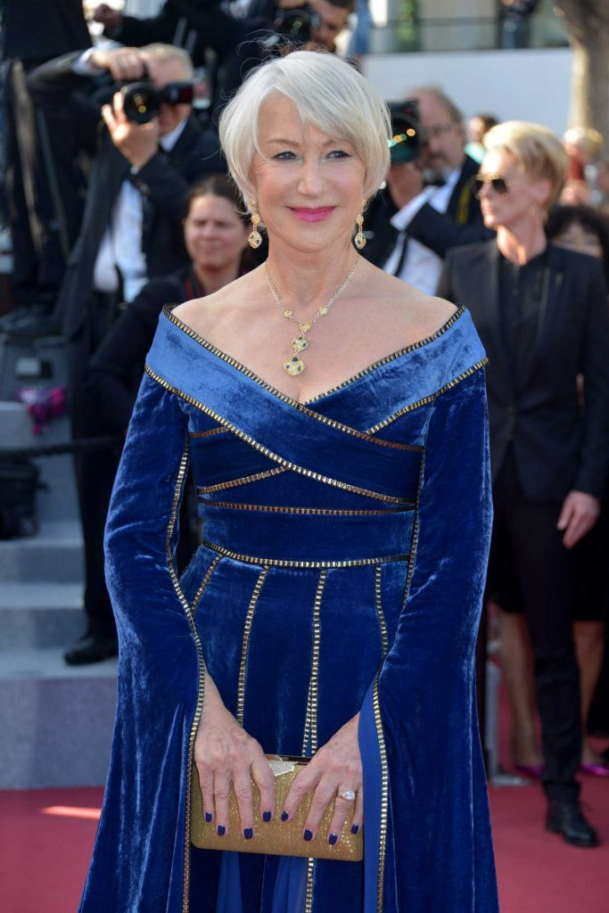 Helen Mirren at the Girls of the Sun Premiere During the 71st Cannes Film Festival in Cannes 05/12/2018-4