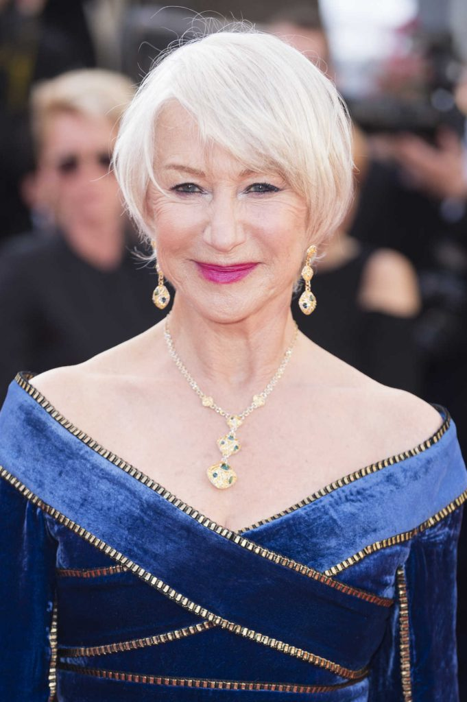 Helen Mirren at the Girls of the Sun Premiere During the 71st Cannes Film Festival in Cannes 05/12/2018-5