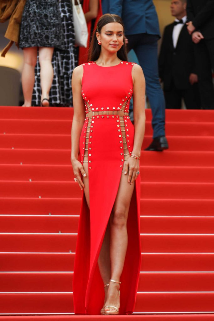 Irina Shayk at Sorry Angel Premiere During the 71st Cannes Film Festival in Cannes 05/10/2018-1